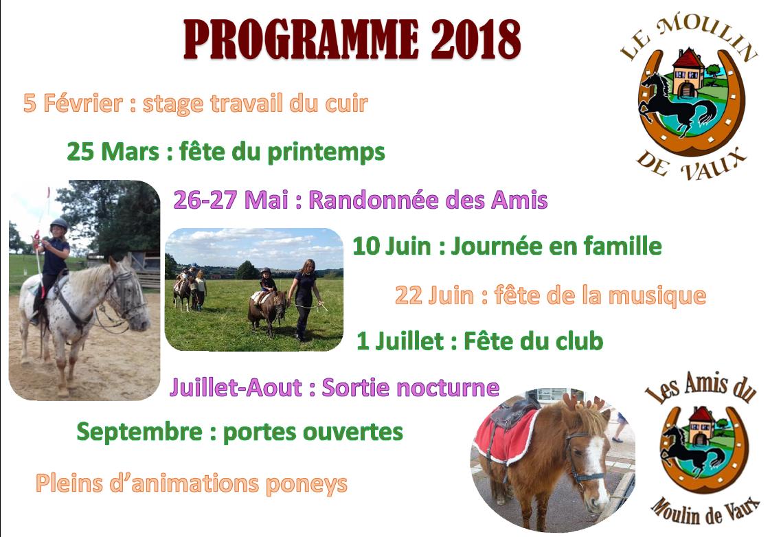 Programme ADMDV 2018