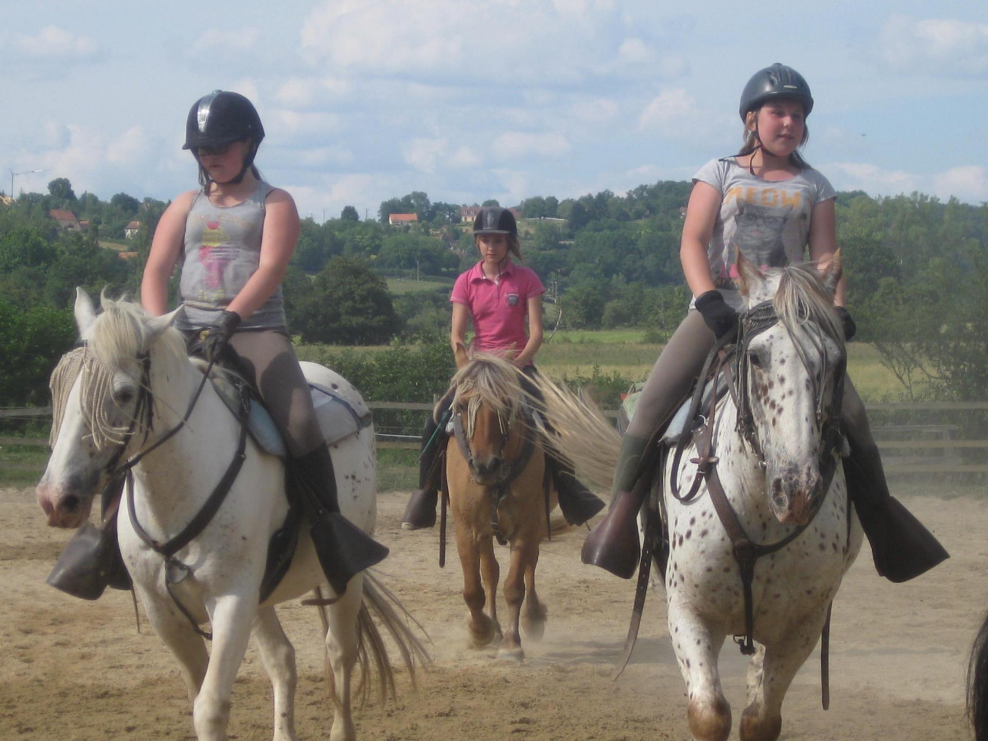 caroussel à cheval