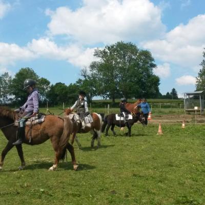 Cours d'équitation à Poney